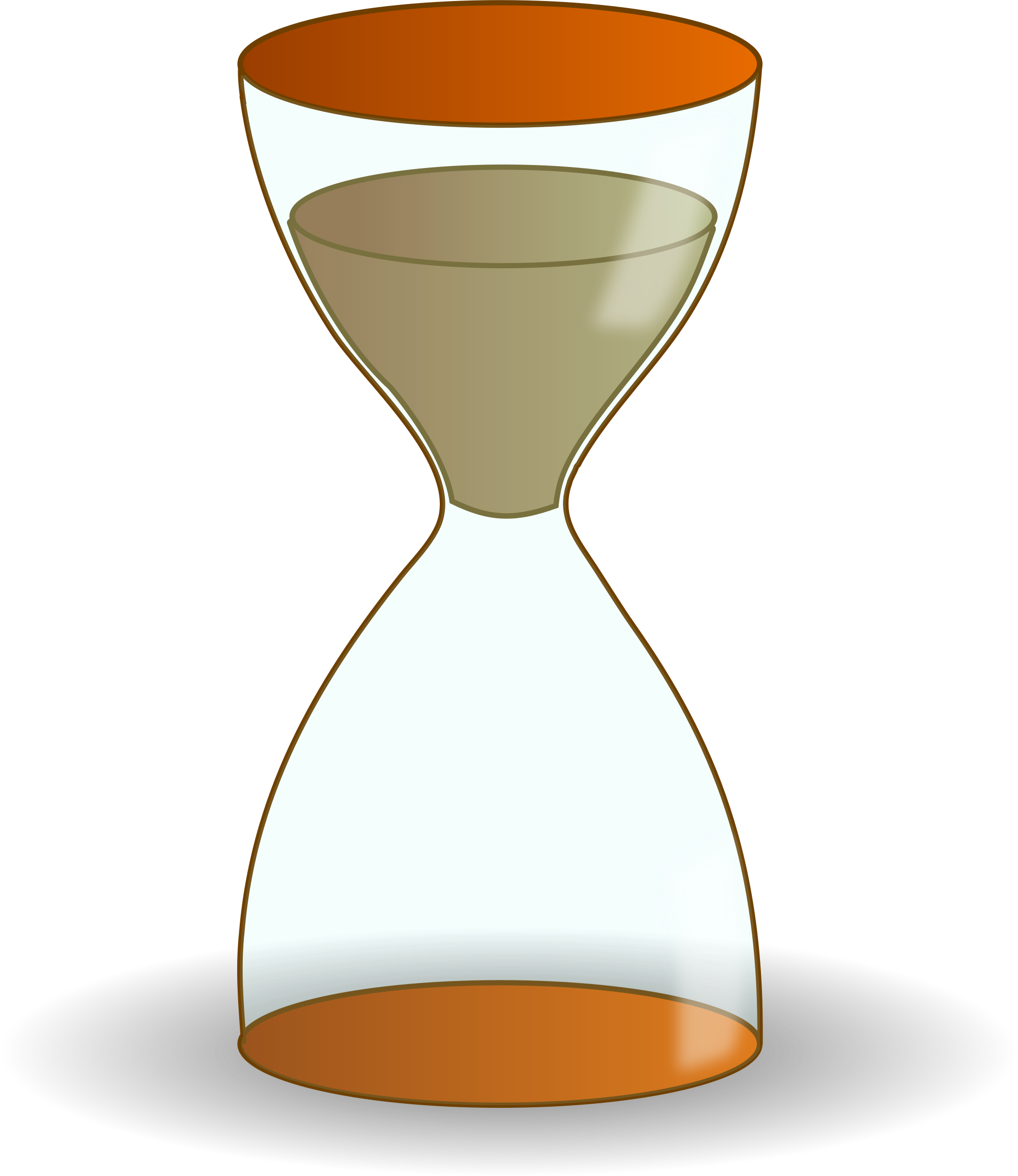 Hour shop of library. Glass clipart clip art