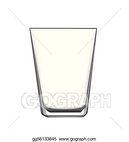Vector art drawing gg. Glass clipart drinking glass