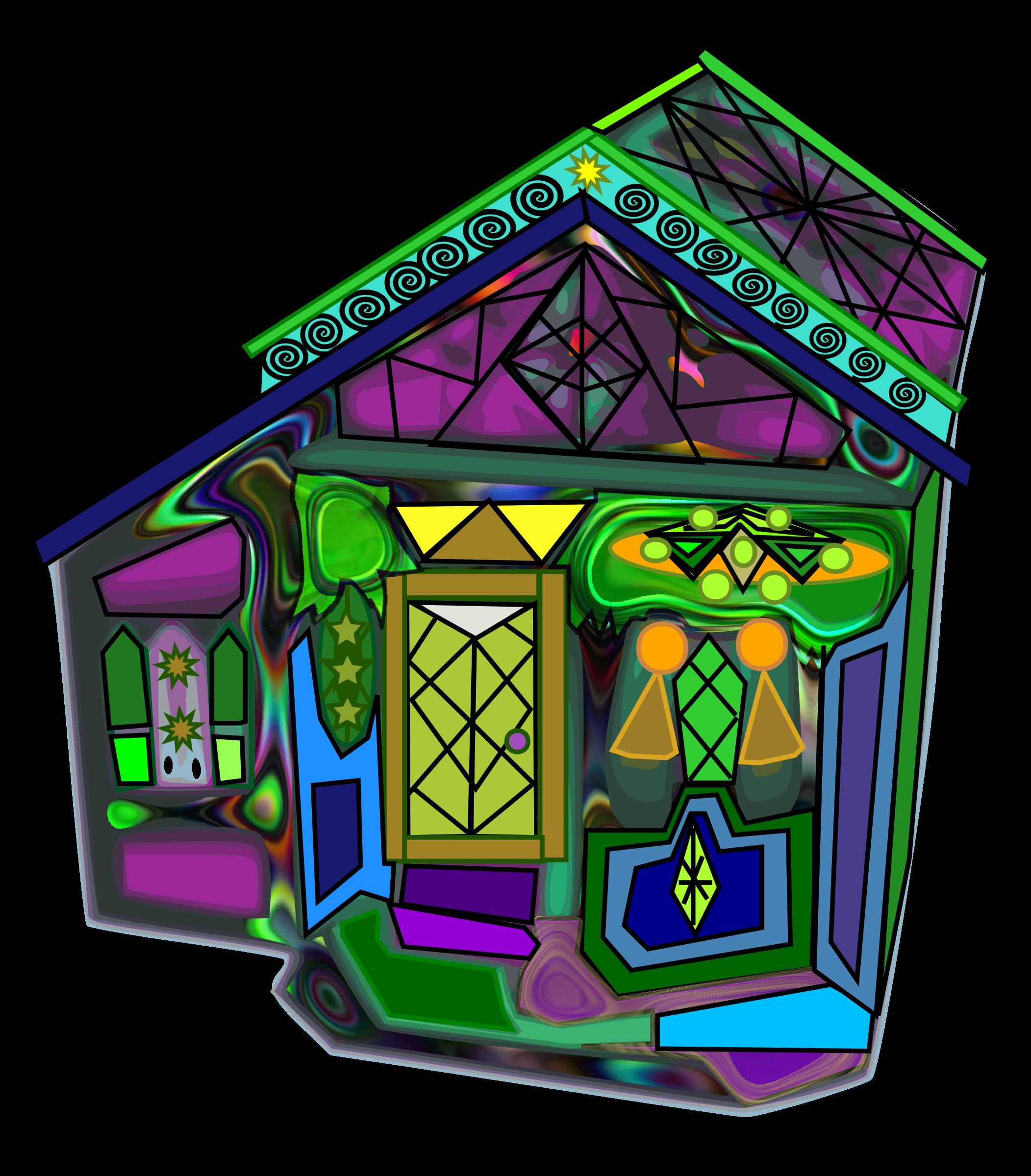 Halloween by karmabub big. House clipart purple