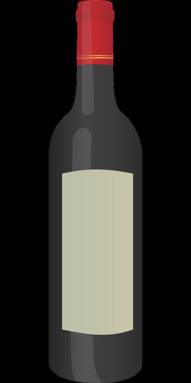 Glass clipart kid. Wine bottle liquor clip