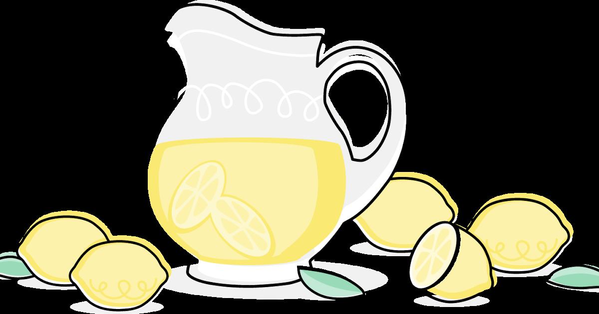 Lemon lemonade pitcher