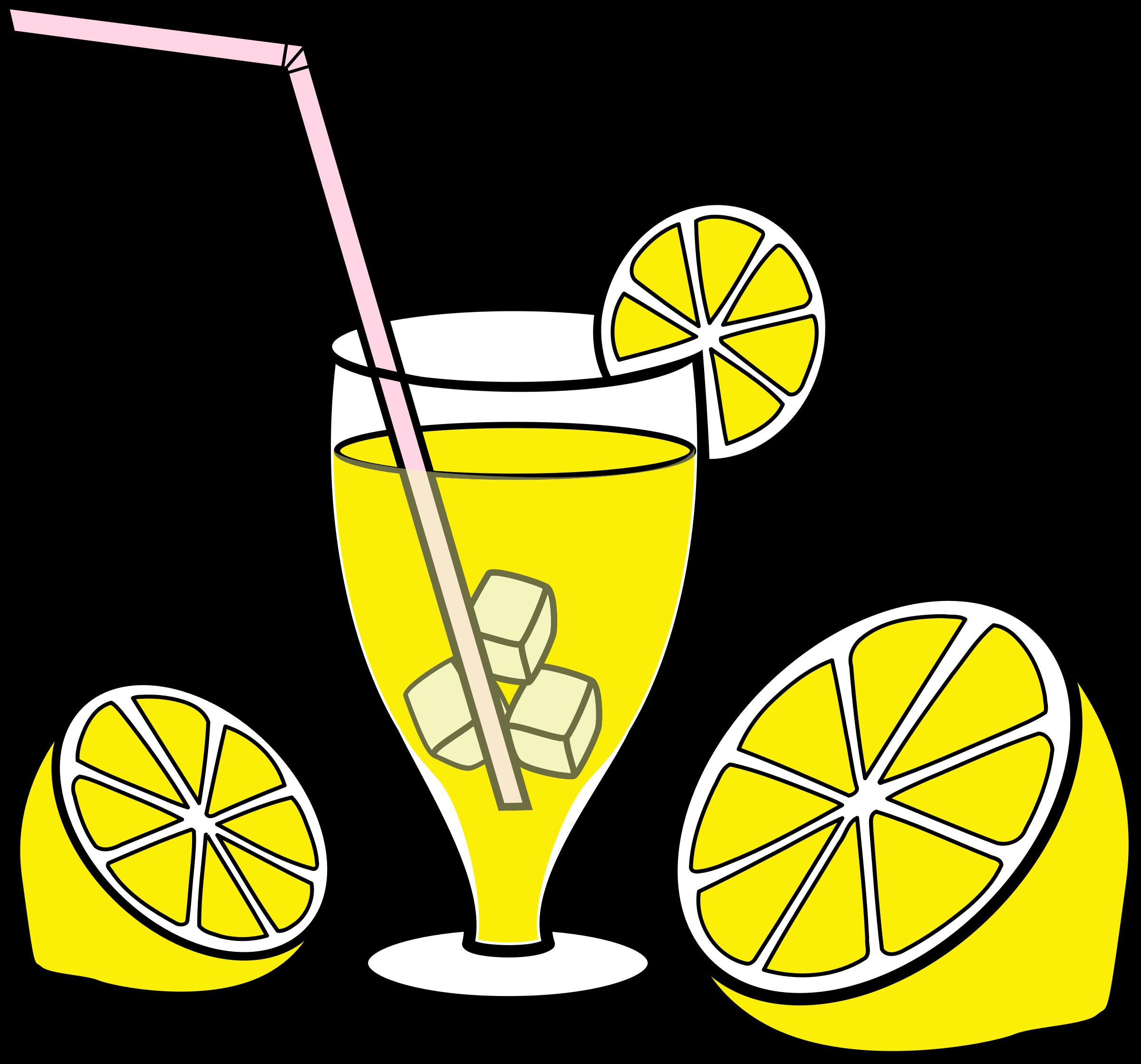 Lemons clipart lemonade. Big image png
