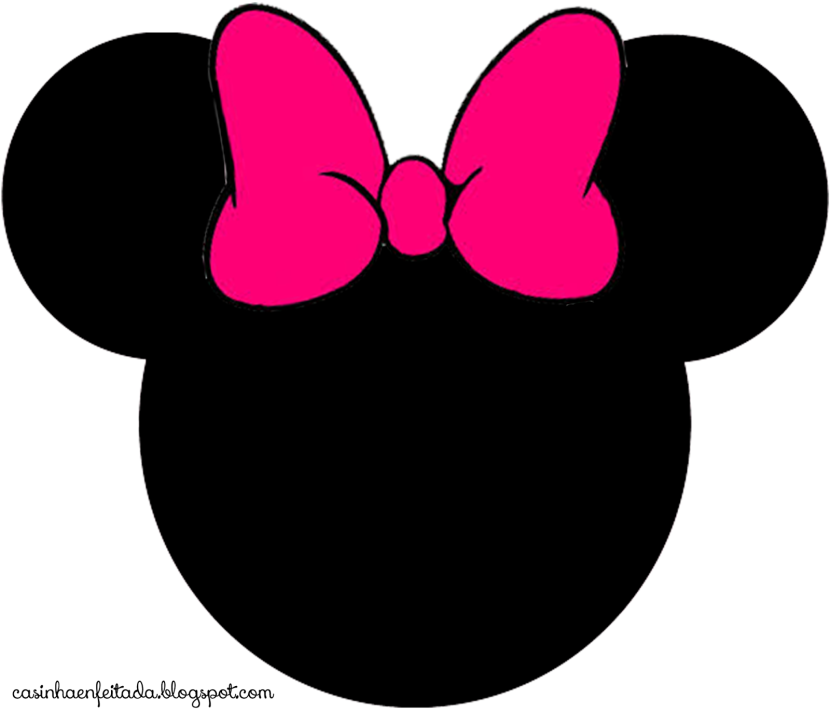 Mouse head cliparts stained. Glass clipart minnie