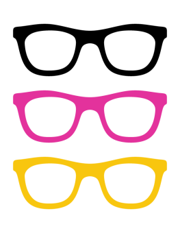 Glass clipart prop. Sunglasses photo booth props