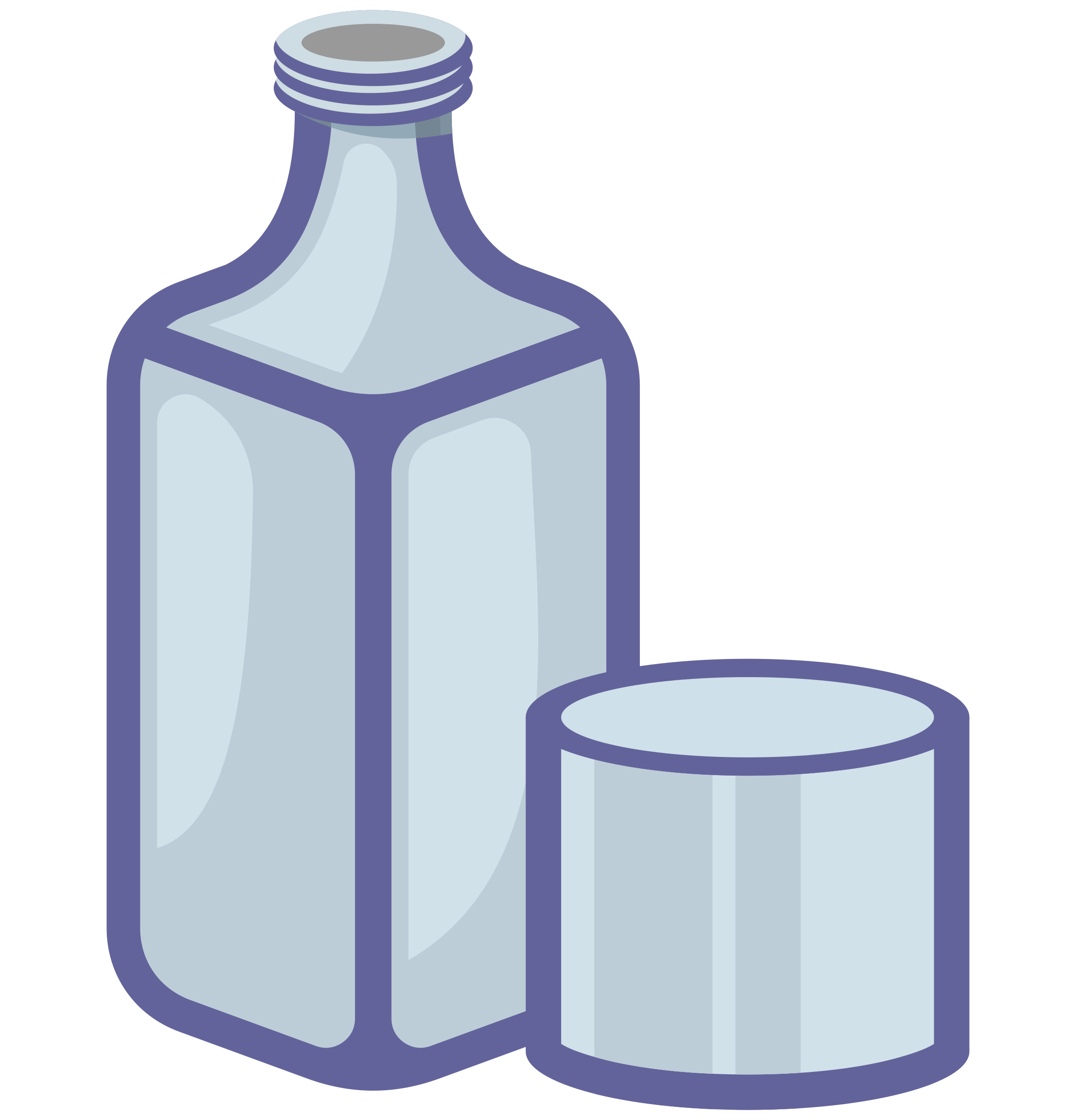 Glass clipart purple. Bottle and big image