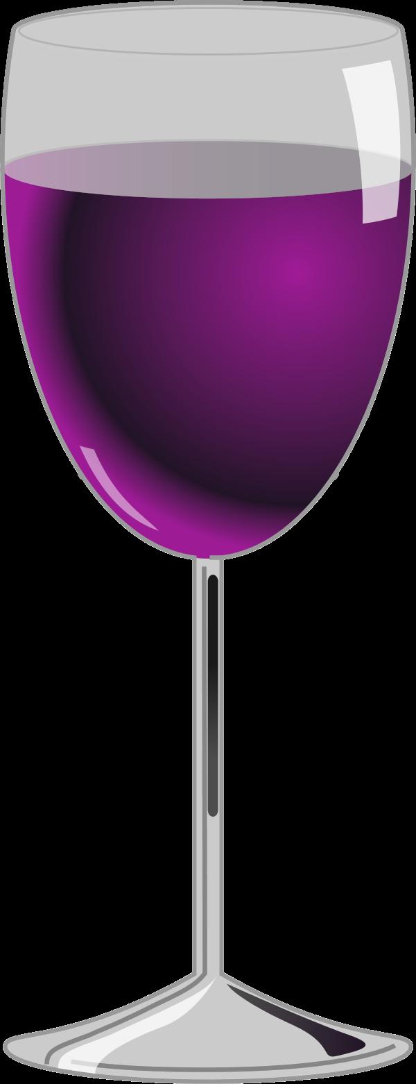 Purple clipart wine glass. Clip art at mzayat