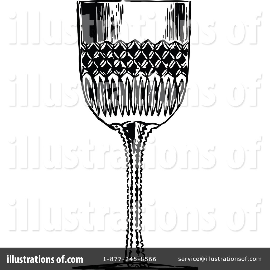 Wine illustration by prawny. Glass clipart vintage glass