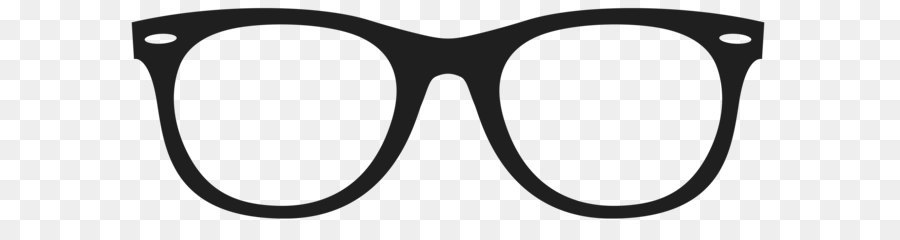 Glasses clipart. Rimless eyeglasses eyewear minimalism