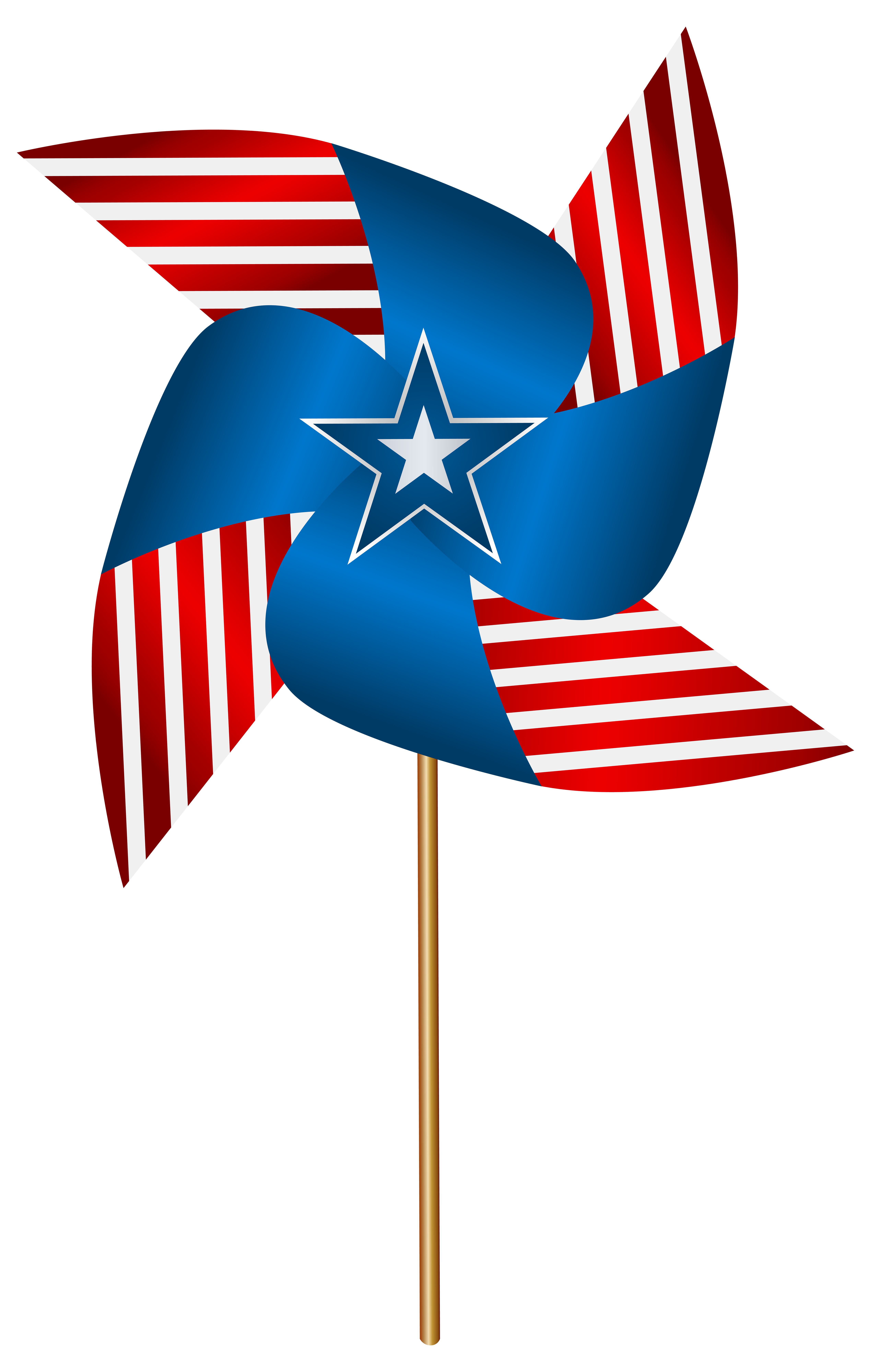 July clipart banner usa. United states flag at