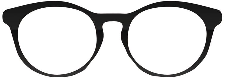 Glasses clipart. Sunglasses line