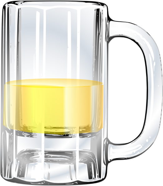 Glasses clipart beer. Mug of clip art