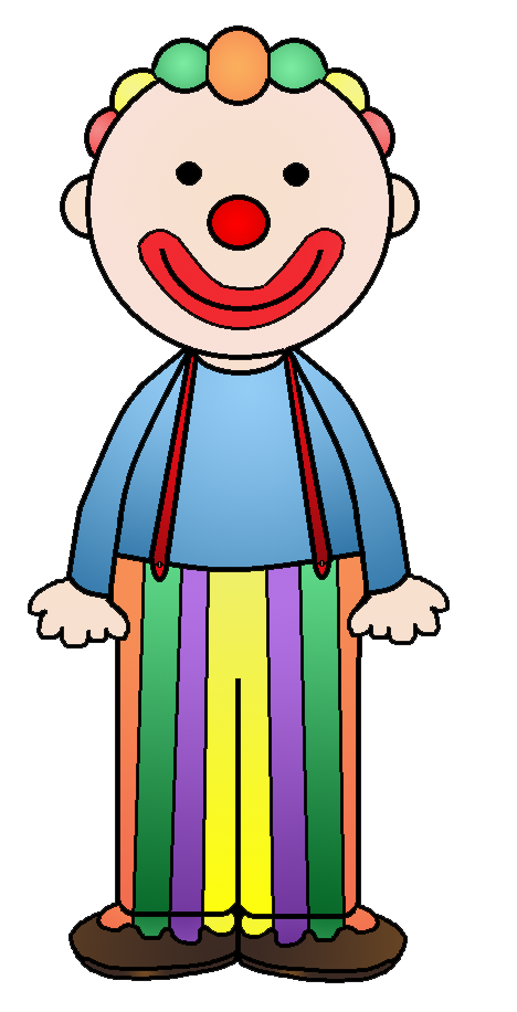 Glasses clipart clown. Graphics by ruth circus