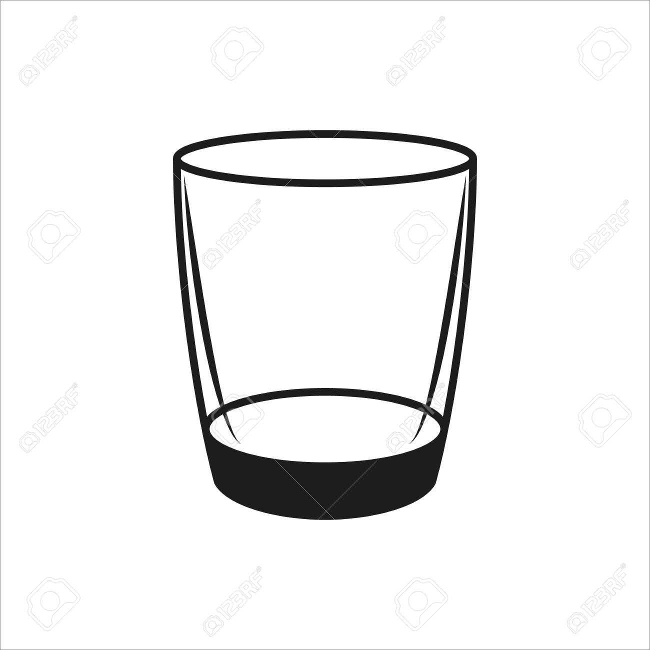 Cliparts making the web. Glasses clipart empty glass