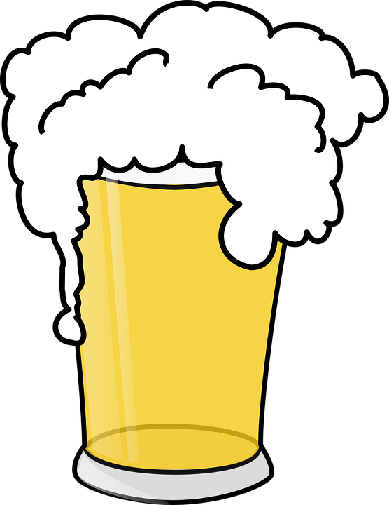 Beer clipart animated. Drinking pint pencil and
