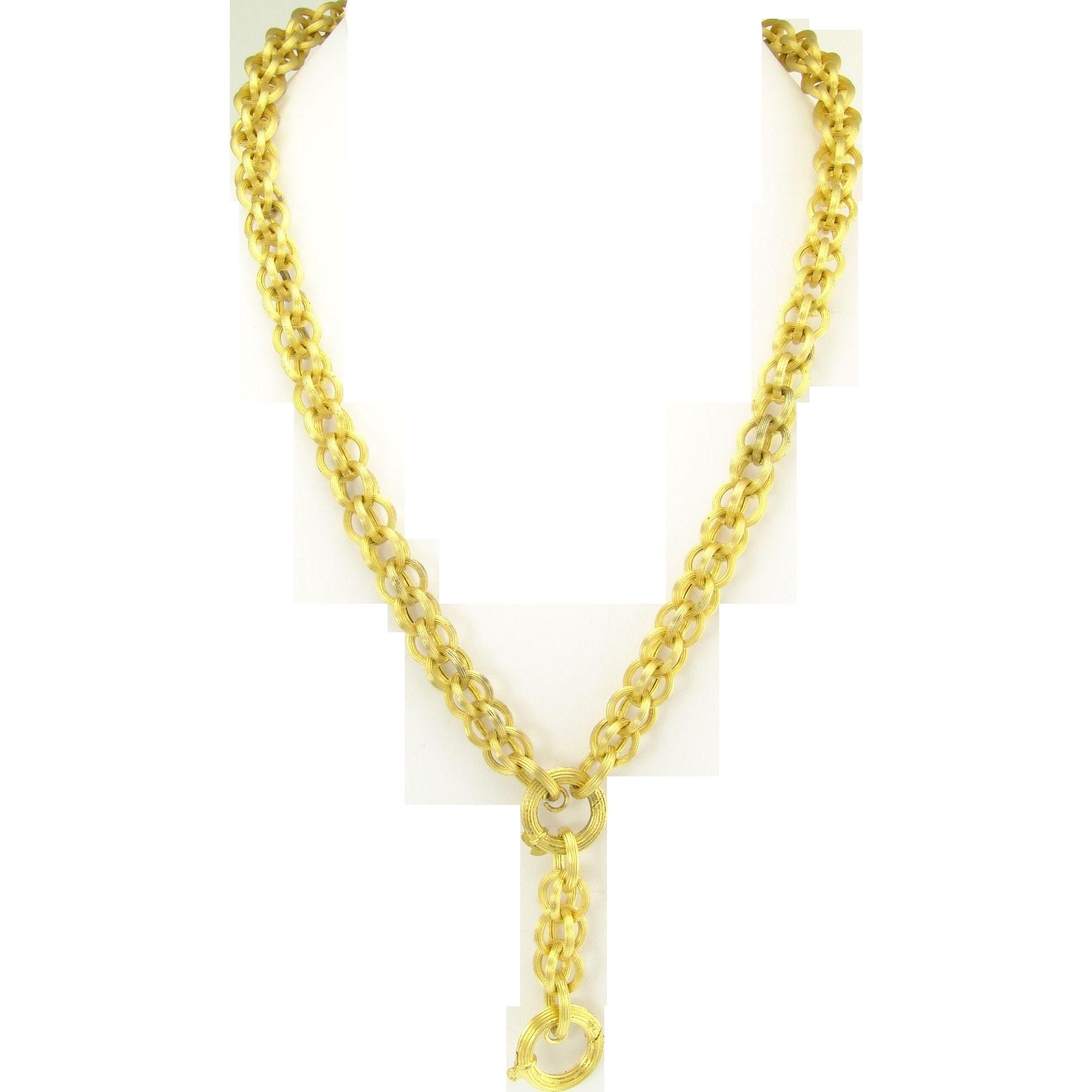 Jewelry gold chain