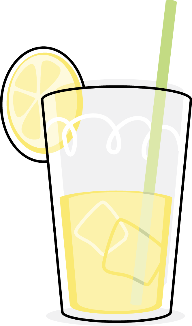 Glasses clipart lemonade. Panda free images lemonadeclipart