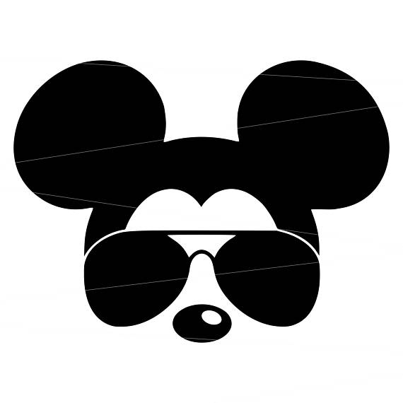 Mouse glasses . Mickey clipart sunglasses