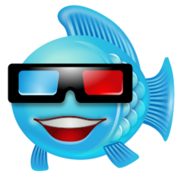 Glasses clipart movie. Fish icon free images