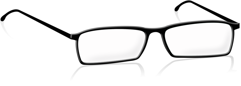 Black Glasses Cliparts