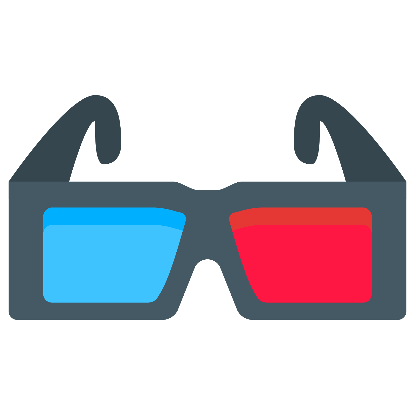 Glasses vector png.  d icon free
