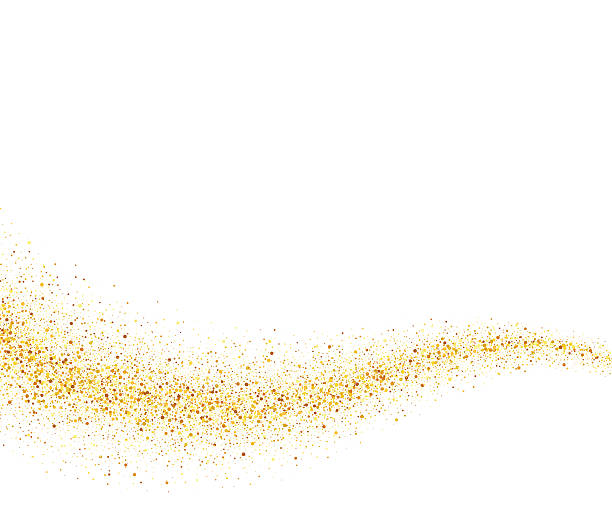 collection of dust. Glitter clipart