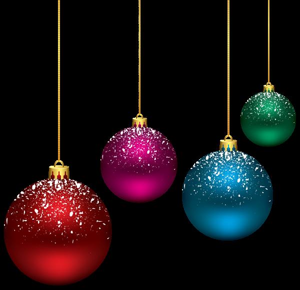 Snowy balls png clip. Glitter clipart christmas