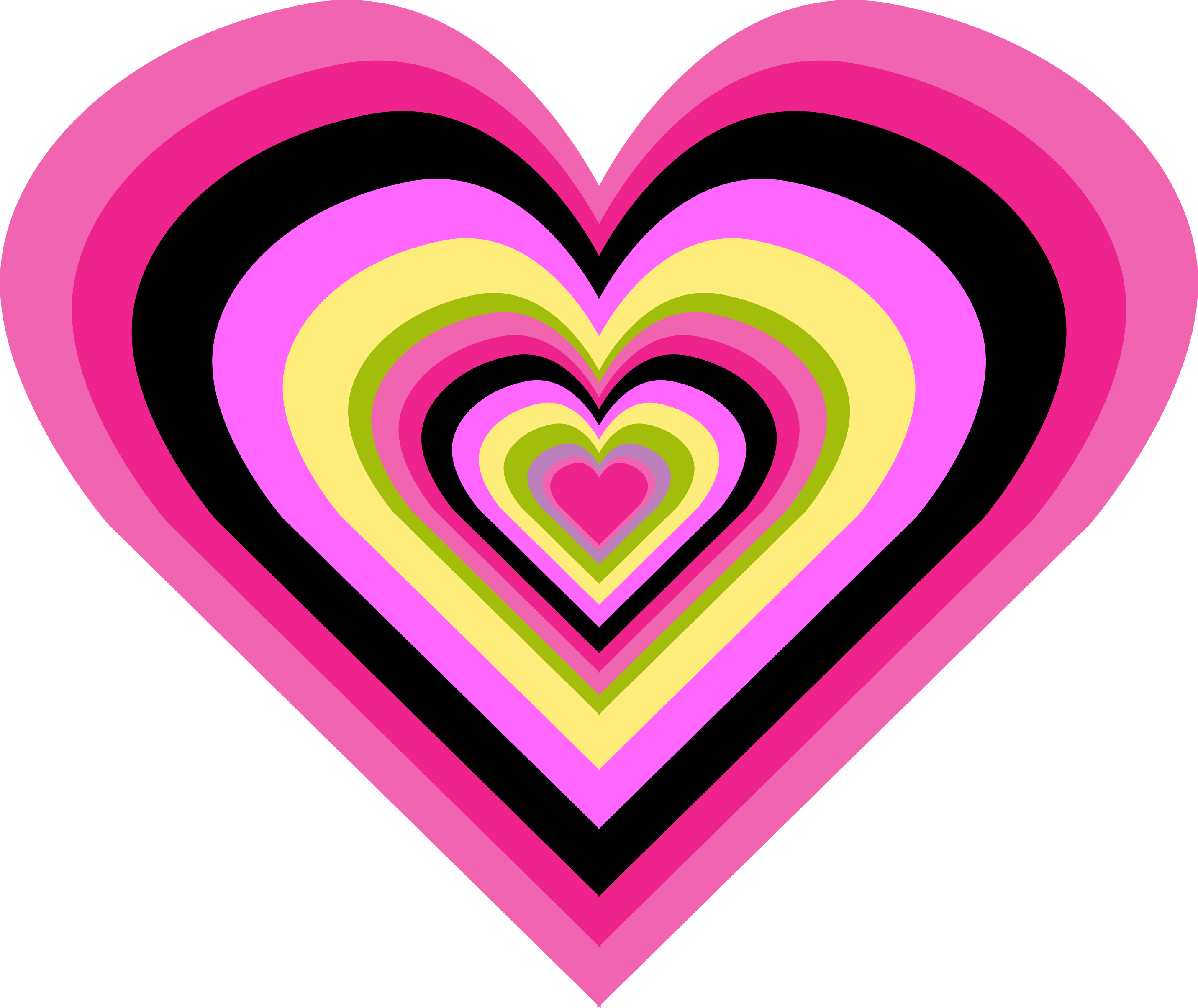 Hearts all things positively. Glitter clipart colourful heart