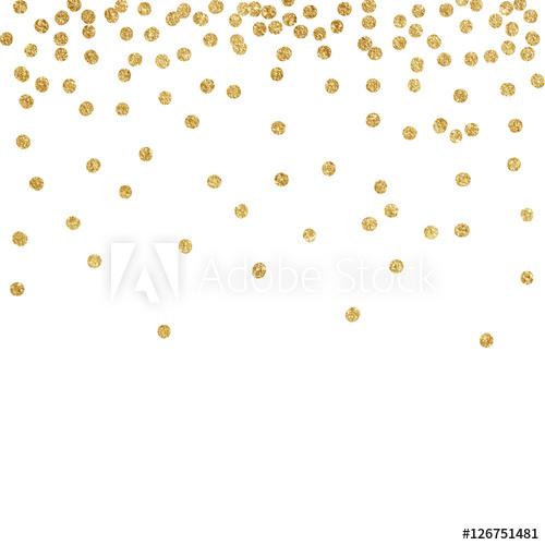 Glitter clipart gold dot. New year texture dots