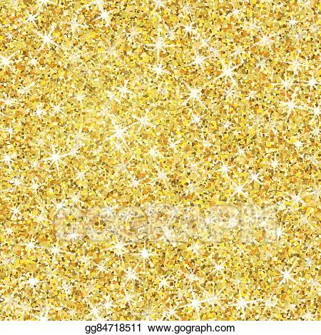 Vector art texture with. Glitter clipart gold shimmer