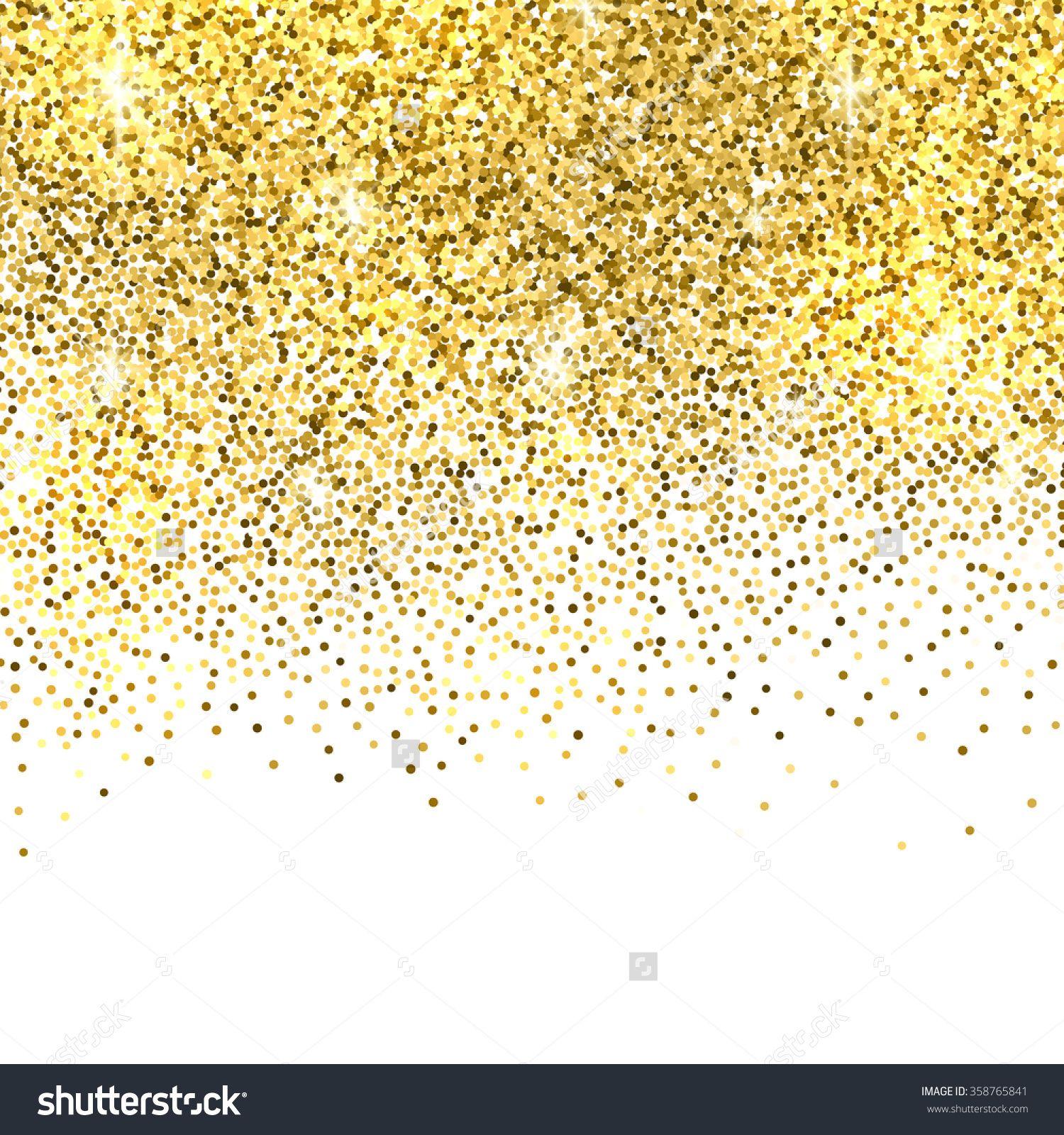 Glitter clipart gold shimmer. Sparkles on white background