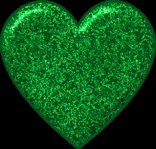 Heart i like color. Glitter clipart green glitter