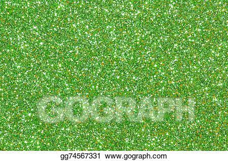 Stock illustration texture background. Glitter clipart green glitter