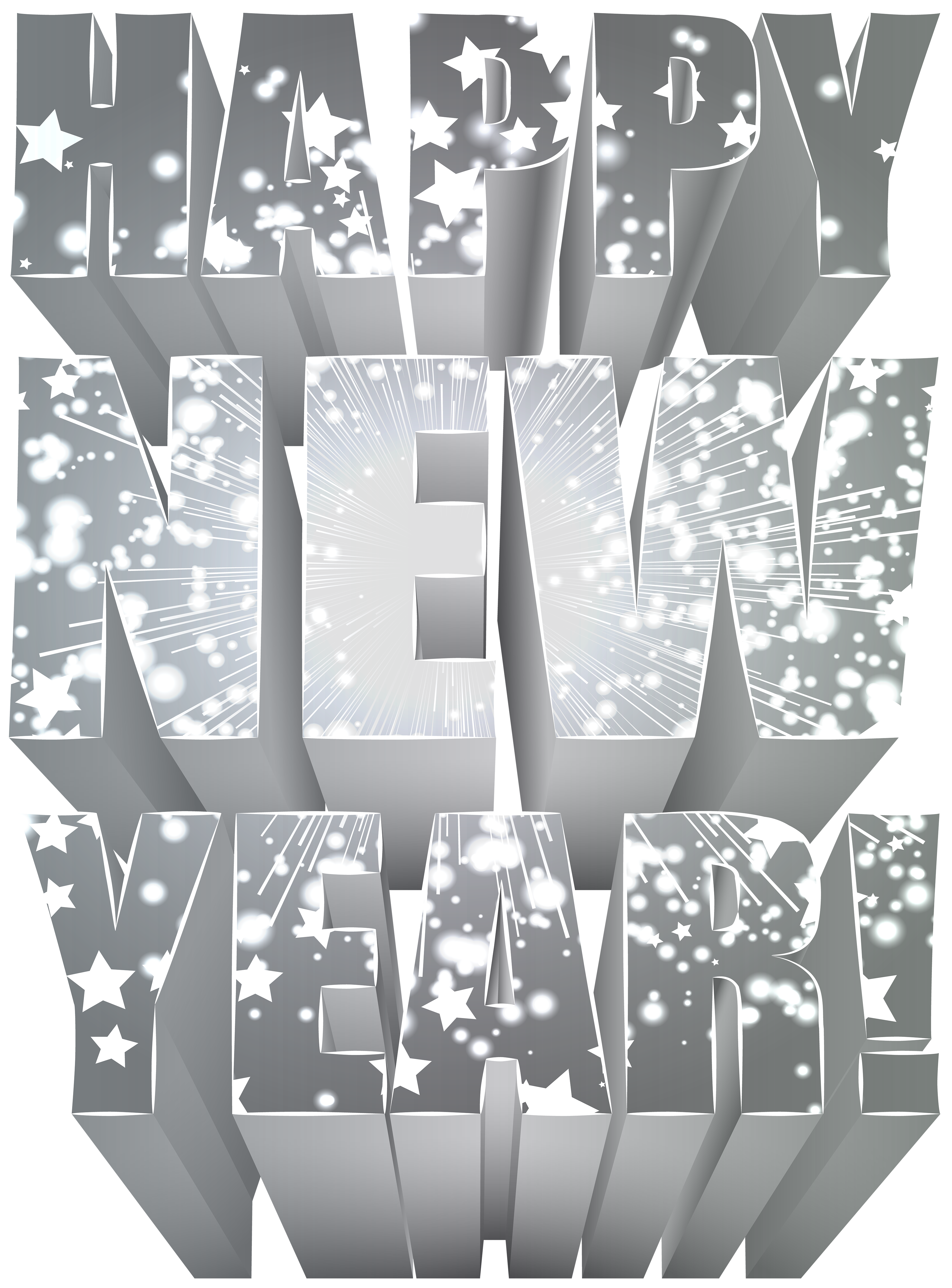 Wheat clipart happy. Silver new year png