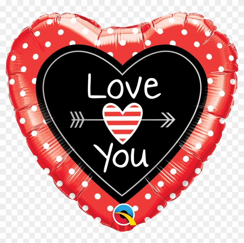 Glitter clipart love arrow. Qualatex valentine balloons hd