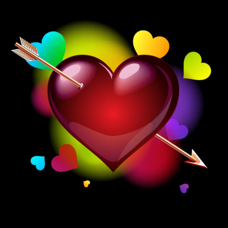 Glitter clipart love arrow.  happy heart clip
