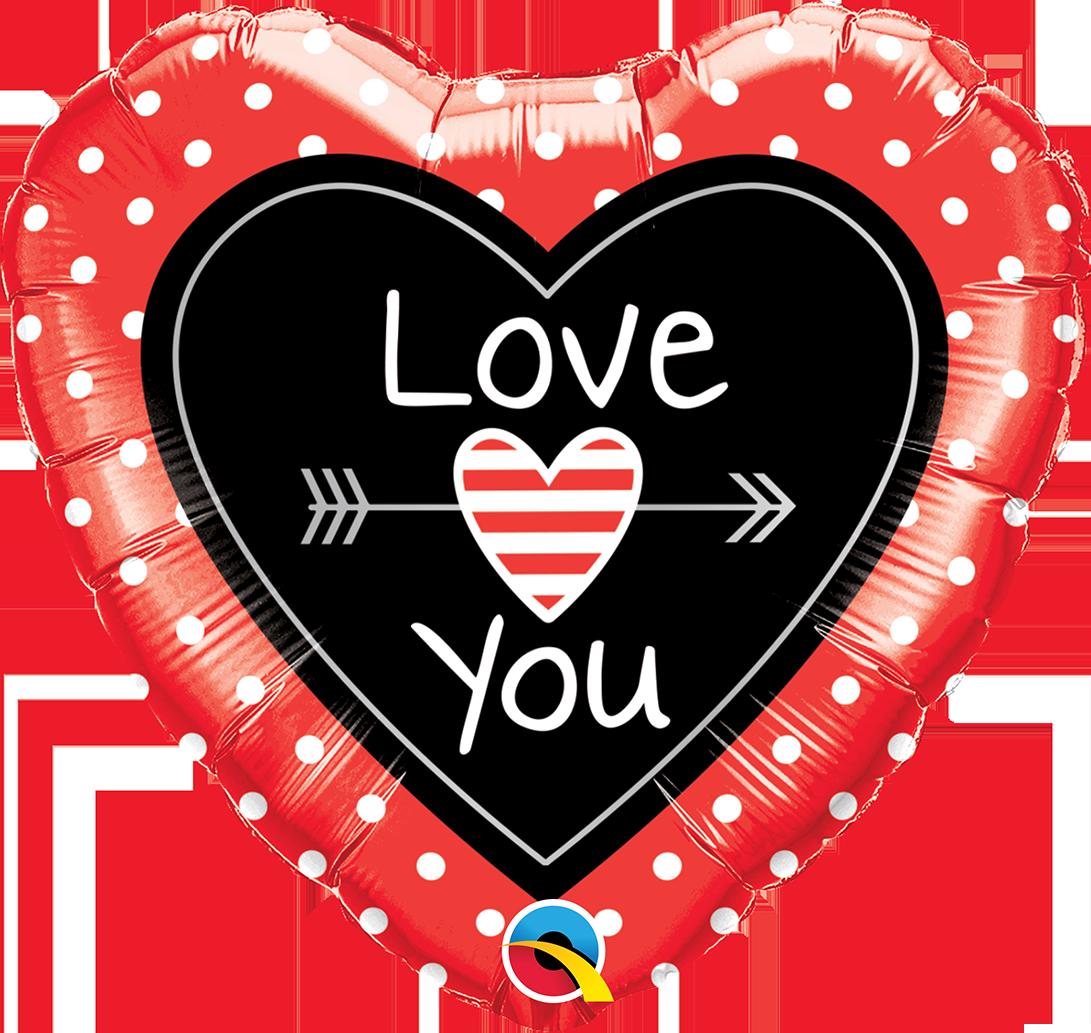 Glitter clipart love arrow.  heart you dots