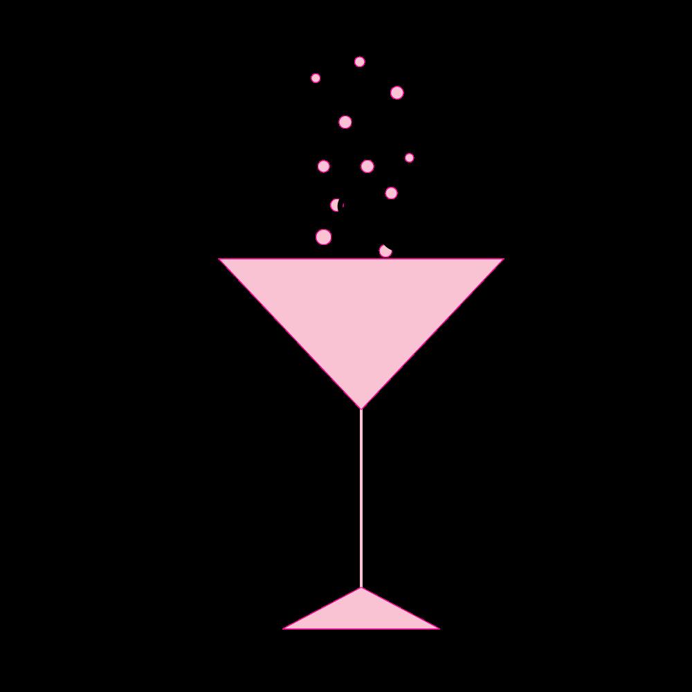 Glitter clipart modern birthday. Martini pic google search