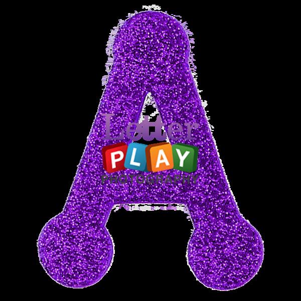 L clipart purple. Glitter juliaelizabethphoto