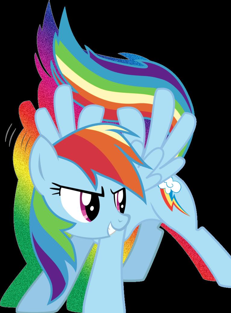 Dash edit by sappharinabinosveon. Glitter clipart rainbow