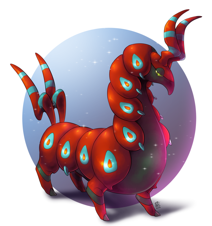 Pkmn scolipede by deestracted. Glitter clipart shiny