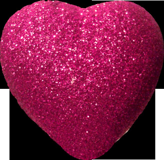Glitter Heart Clipart