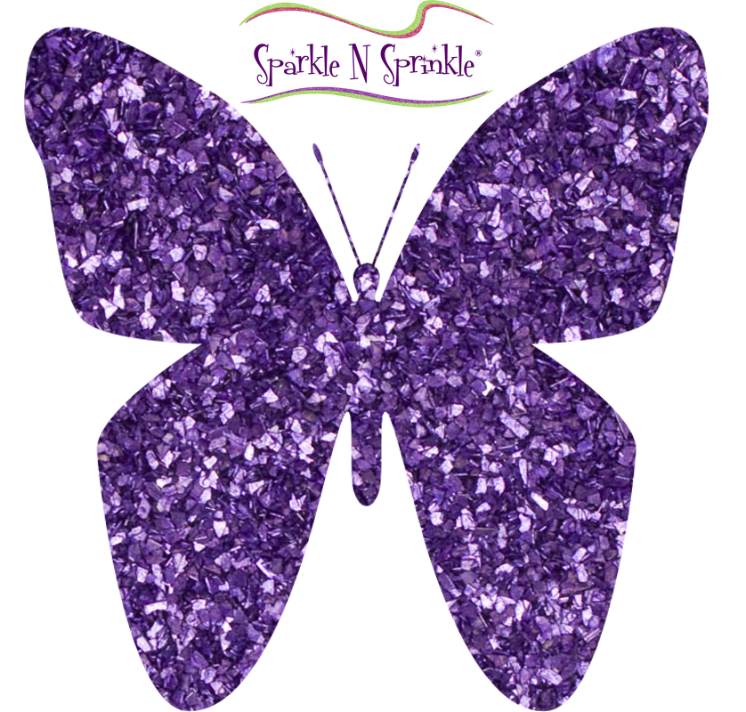 Glitter clipart small butterfly. Glitters sparkle n sprinkle