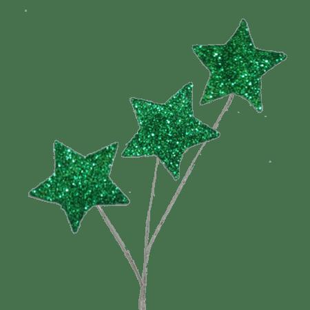 Glitter clipart star spray. Emerald pc pkg