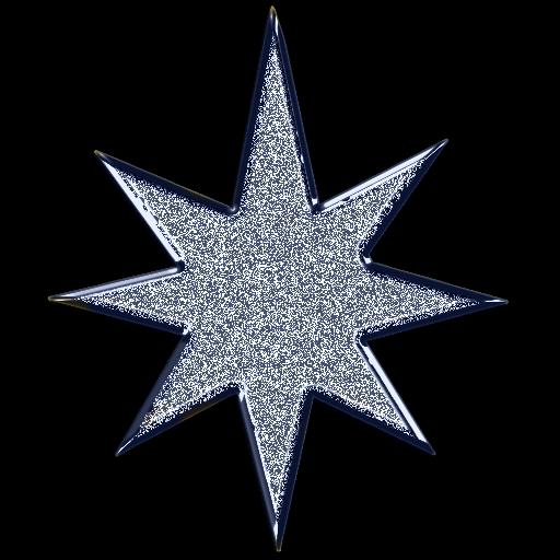 Free silver star cliparts. Glitter clipart starts