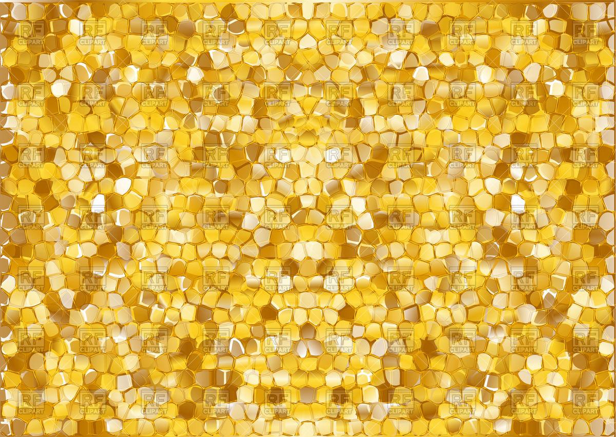 Gold modern vector image. Glitter clipart texture background