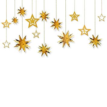 Glitter clipart twinkle star. Hanging garland sparkly paper