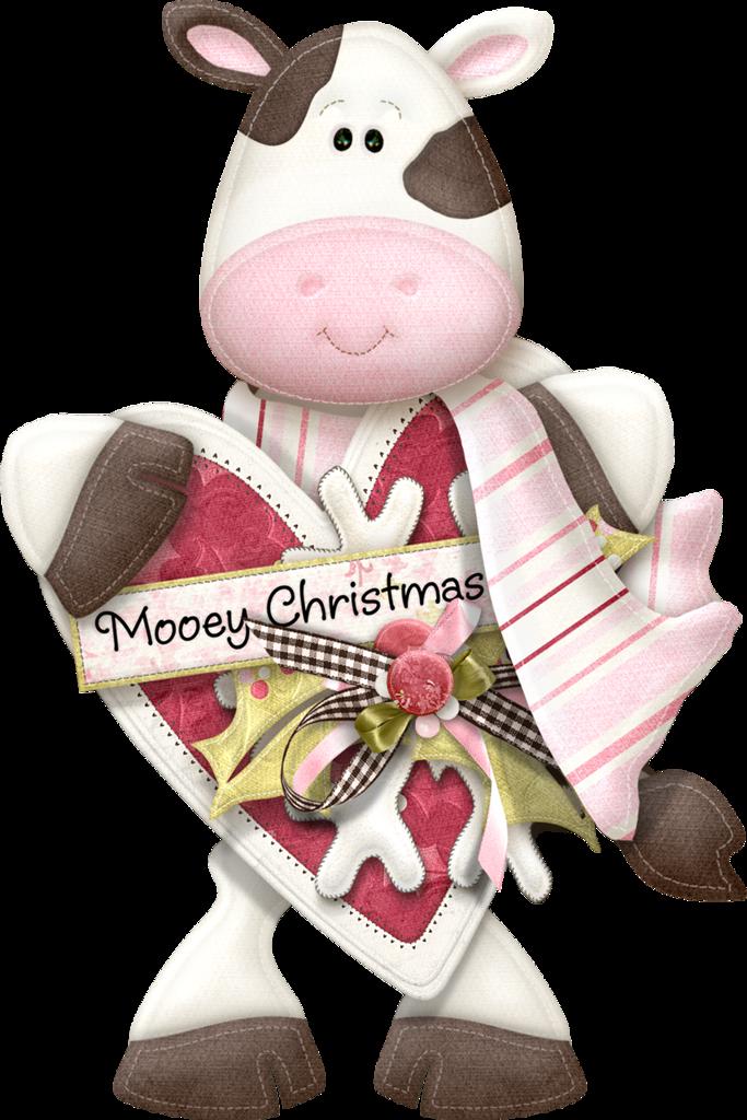 Mooey christmas clip art. Glitter clipart winter