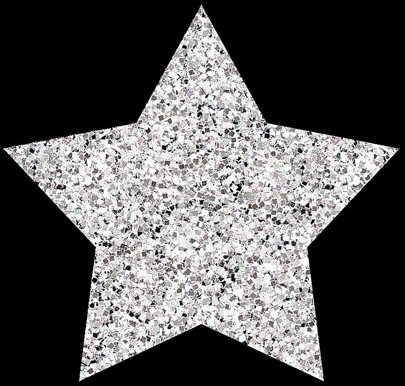 Lacarolita cold star png. Glitter clipart winter