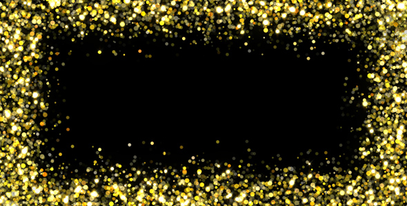 . Glitter frame