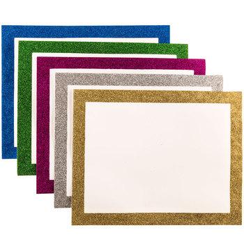 Glitter frame. Boards x hobby lobby
